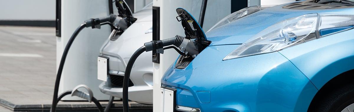 Elektrische auto rijden