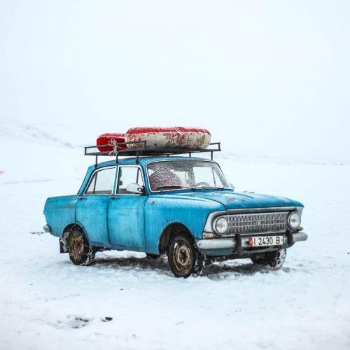 Niks tekort met de auto op wintersport