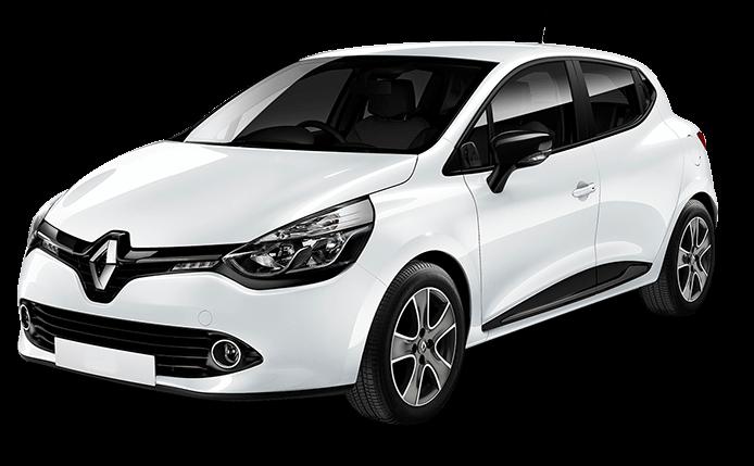 Renault Clio transparent
