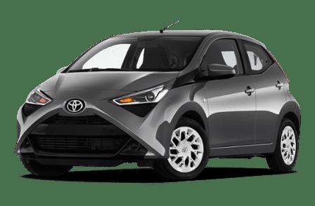 Toyota Aygo transparant