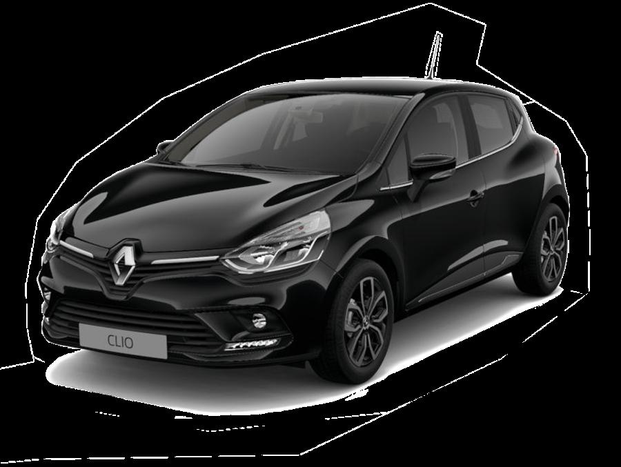 Renault Clio transparant